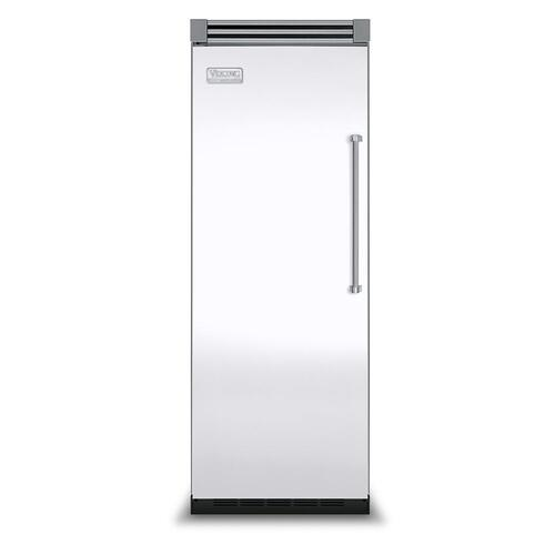 "Viking - White 30"" Quiet Cool™ All Refrigerator - VIRB Tru-Flush™ (Left Hinge Door)"