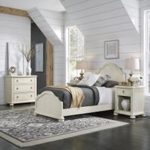 Provence Twin Bed; 2 Nightstands & Chest