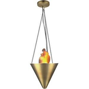 Ceiling Lamp, Bronze, 50w/gu-10 Type