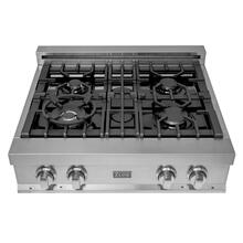 ZLINE 30 in. Porcelain Rangetop with 4 Gas Burners (RT30)