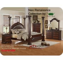 Crown Mark Furniture B1470 Neo Renaissance Bedroom set Houston Texas USA Aztec Furniture