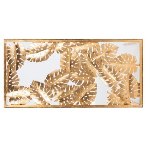Safavieh - Leilani Palm Leaf Coffee Table - Gold Leaf