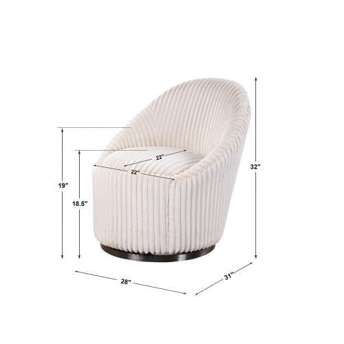 Crue Swivel Chair