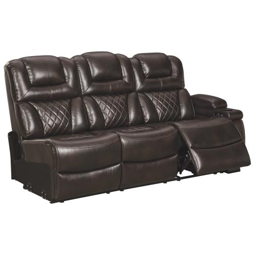 Warnerton 3-piece Power Reclining Sectional