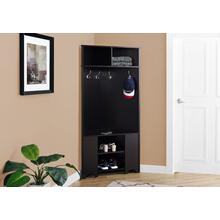 "HALL TREE - 67""H / ESPRESSO CORNER UNIT"