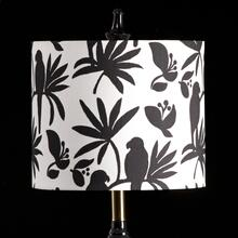 BIRD MIXOLOGY SHADE  SMALL  10in X 12in  Available in three sizes this lighting collection has a
