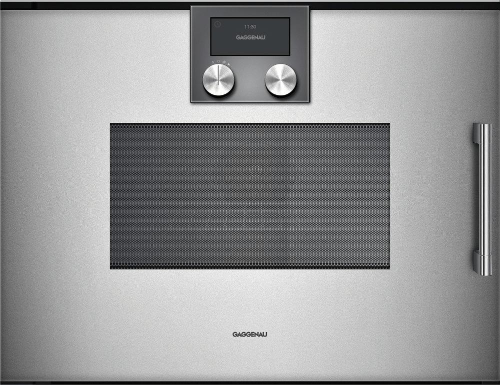 200 Series Combi-microwave Oven 24'' Door Hinge: Left, Door Hinge: Left,  Metallic Photo #2