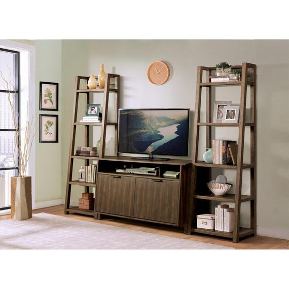 Riverside - Perspectives - Entertainment Console - Brushed Acacia Finish