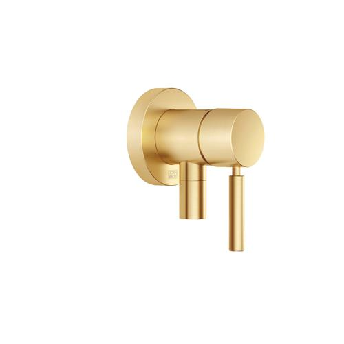 Dornbracht - FM one-handed regulator with cover plate With integrated shower connection - Brushed Durabrass