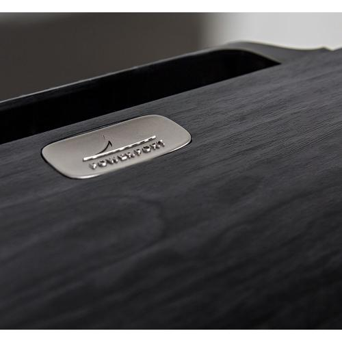 American HiFi Home Theater Center Speaker in Washed Black Walnut