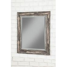 Farmhouse Antique Black Wall Mirror - Antique Black