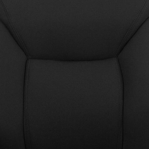 Gallery - HERCULES Series Big & Tall 400 lb. Rated Black Fabric Deep Tufted Swivel Ergonomic Task Office Chair with Adjustable Arms