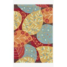 View Product - FC-14 Brown / Leaves Rug