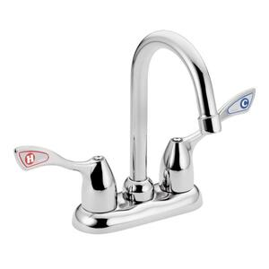 M-BITION chrome two-handle pantry faucet Product Image