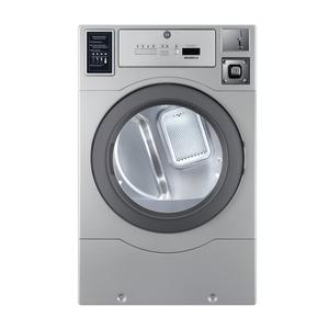 """CROSSOVER 2.0Crossover True Commercial Laundry - 7.0 CF Heavy Duty Top Control Gas Dryer, Coin Option Included/Card Ready, Silver, 27"""""""
