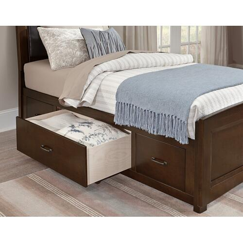 Gallery - Panel Storage Bed (available in 3/3 or 4/6)