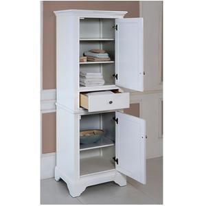 """Fairmont Designs - Framingham 21"""" Linen Tower - Polar White"""