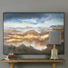 Valley Of Light Hand Painted Canvas