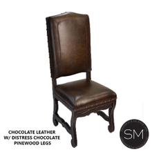 Top Grain Leather Dining Chairs
