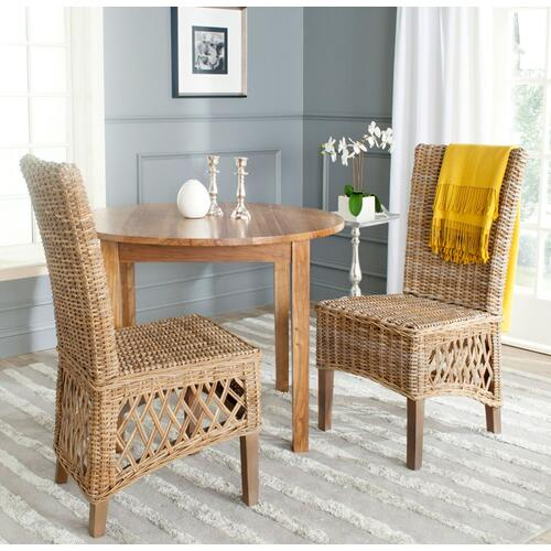 "Sumatra 19""h Rattan Side Chair - Natural"