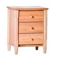 Shaker 3 Drawer Nightstand