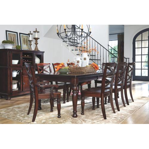 Porter Dining Room Server w/Storage Rustic Brown