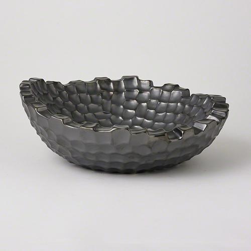 Random Grid Bowl-Graphite