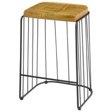 See Details - Tala Trembesi Counter Stool, Natural