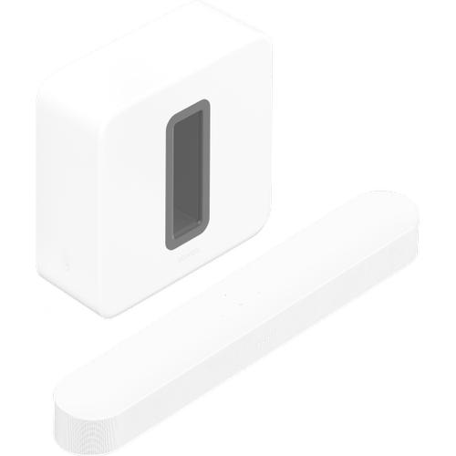 Gallery - White- Entertainment Set