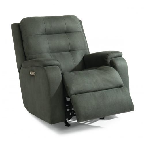 Arlo Power Rocking Recliner with Power Headrest