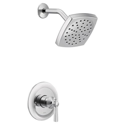 Flara polished nickel m-core 3-series shower only