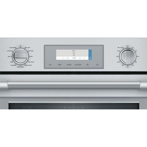 Thermador - Triple Speed Oven 30'' Stainless Steel PODMCW31W