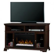 Brookings Media Console Electric Fireplace
