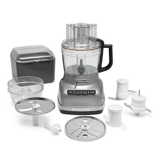 Gallery - 11-Cup Food Processor with ExactSlice™ System - Contour Silver