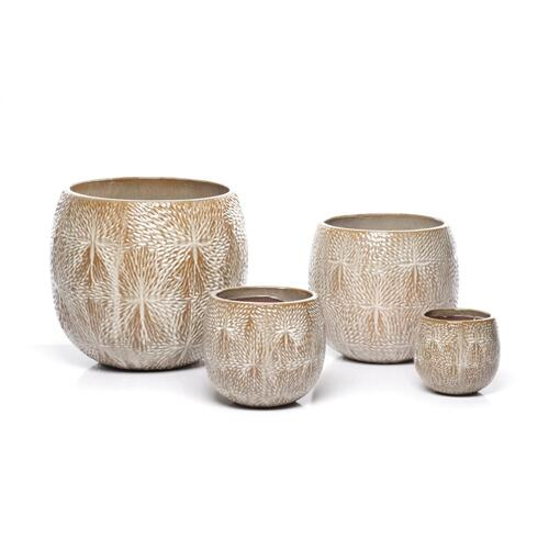 Alfama Round Planter - Set of 4