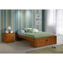See Details - 53 Jumbo Under Bed Chest Fits At Foot of Full Bed