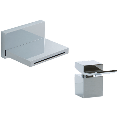 Quarto In Wall Tub Spout with Deck Mount Control