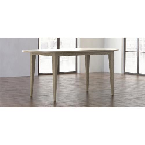 Bassett Furniture - Owens Oak Oval Counter Table