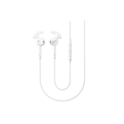 In-Ear Headphones + White 2.1A Battery Pack