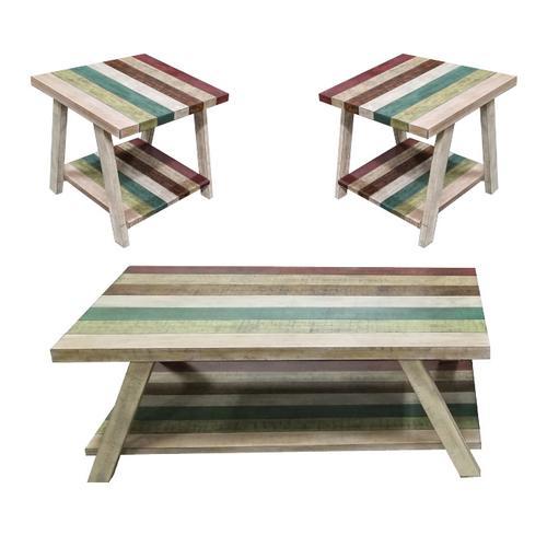 Jib Sail Coffee and End Table Set