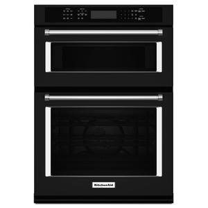 "KITCHENAID30"" Combination Wall Oven with Even-Heat(TM) True Convection (Lower Oven) - Black"