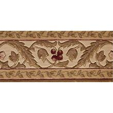Ashton House Regal Vine A02b Olive Border