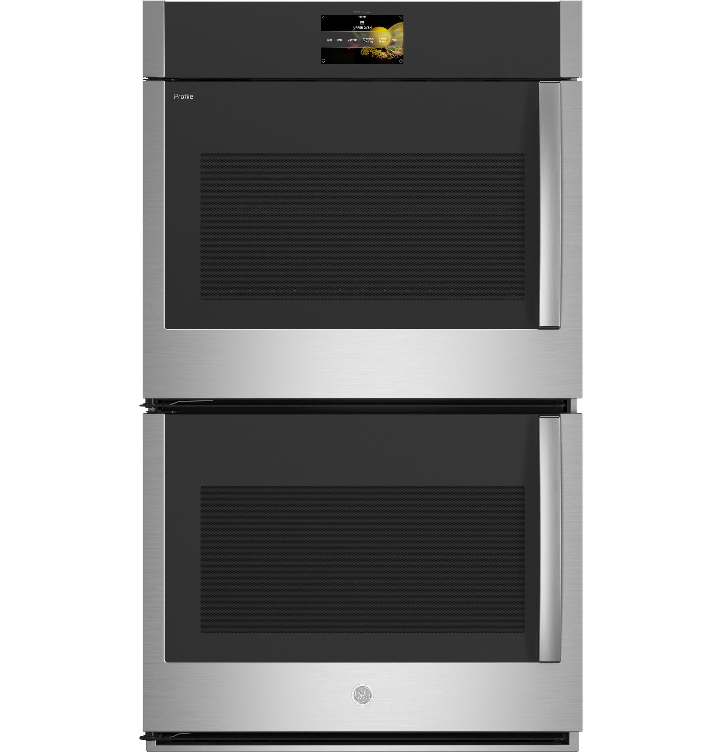 "GE Profile30"" Smart Built-In Convection Double Wall Oven With Left-Hand Side-Swing Doors"