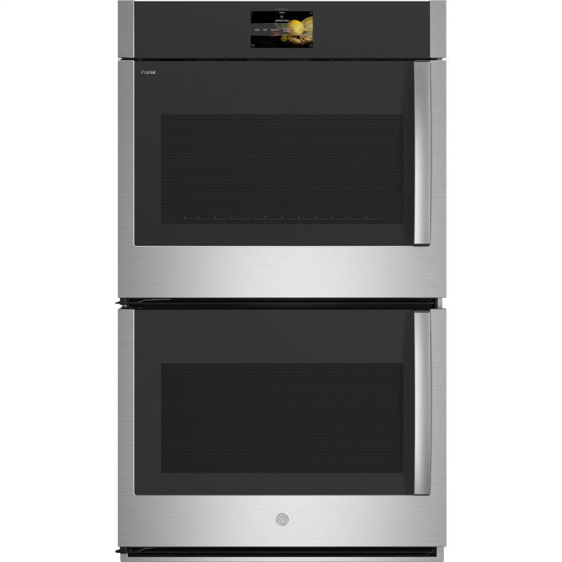 "30"" Smart Built-In Convection Double Wall Oven with Left-Hand Side-Swing Doors"