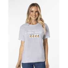 Life Happens Coffee Helps T-Shirt - L
