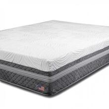 Queen-size Iris Gel Memory Foam Mattress