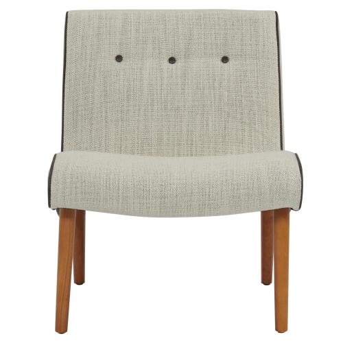 Alexis Fabric Chair Amber Legs, Canvas