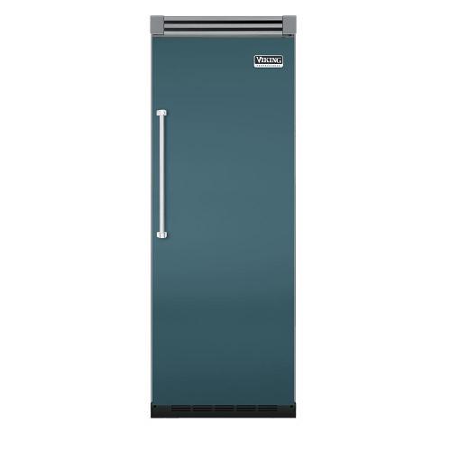 "Viking - Iridescent Blue 30"" Quiet Cool™ All Refrigerator - VIRB Tru-Flush™ (Right Hinge Door)"