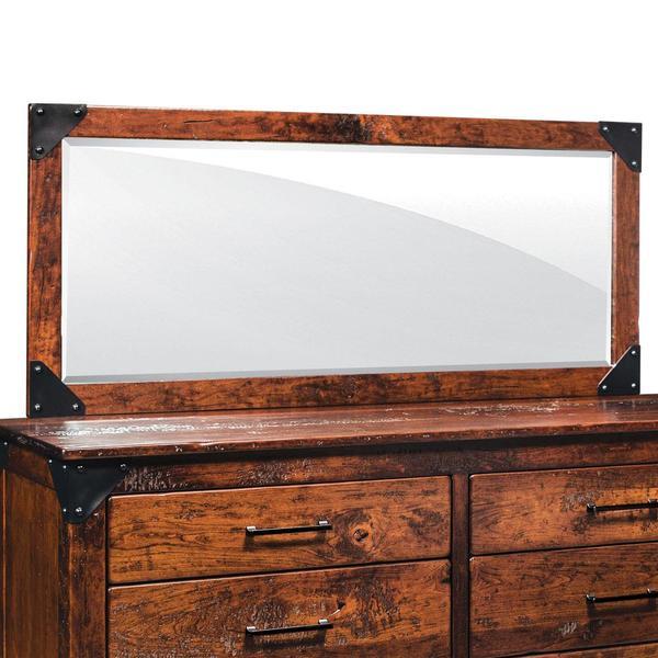 See Details - Kodiak Bureau Mirror, 52 'w x 27 'h