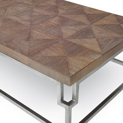 Rectangular Cocktail Table - Brown